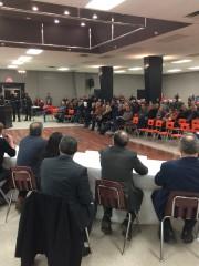 La salle communautaire de Saint-Apollinaire était pleine alors... (Collaboration spéciale Ian Bussières) - image 1.0