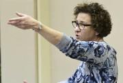 Céline Perreault assure la direction musicale du Magnificat... (Le Quotidien, Michel Tremblay) - image 1.0