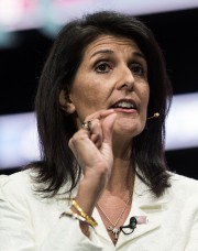 L'ambassadrice américaine à l'ONU, Nikki Haley... (PHOTO NICHOLAS KAMM, ARCHIVES AFP) - image 1.0