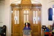 L'ancien confessionnal a été converti en cabines d'essayage.... (Photo Ninon Pednault, La Presse) - image 1.0