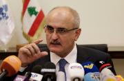 Le ministre des Finances libanais Ali Hassan Khalil... (AP, Hassan Ammar) - image 11.0