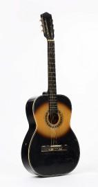 La guitare «de feux» d'André Dédé Fortin, nommée... (Courtoisie, Musée de la civilisation) - image 2.1