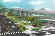 L'aménagement proposé sous le pont.... (IMAGE FOURNIE PAR PJCCI) - image 2.0