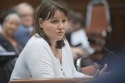 Christelle Lefèvre s'est fait la porte-parole des marchés... (Spectre Média, Julien Chamberland) - image 1.0