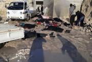 À leur arrivée sur les lieux de l'attaque,... (AP, Edlib Media Center) - image 2.0