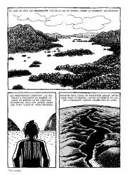 Une planche de l'albumLe retour de l'Iroquoisde Louis... (Éditions Trip) - image 1.0