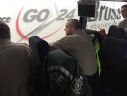 Les policiers sont assis dans le confort d'un... (Le Soleil, Jean-François Néron) - image 1.0