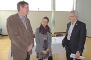 Le conseiller municipal de Lac-Mégantic, Pierre Latulippe, et... (La Tribune, Ronald Martel) - image 1.0