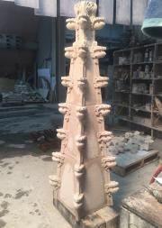 Une flèche néo-gothique de l'Université de Yale, aux... (Le Soleil, Erick Labbé) - image 1.1