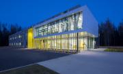 Pour concevoir l'école primaire Harfang-des-Neiges, à Stoneham, la... (Photo Stéphane Groleau) - image 1.0