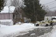 Deux femmes ont été retrouvées mortes dans cette... (Photo Patrick Sanfaçon, La Presse) - image 2.0