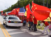 Des supporters de Xi Jinping démontrent leur soutien... (AFP) - image 2.0