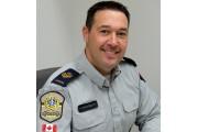 Le policier Pascal Coutermanche est de retour de... (Alain Dion, La Voix de l'Est) - image 1.0