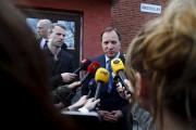 Le premier ministre suédois, Stefan Lofven, a offert... (Thomas Johansson, AFP) - image 2.0