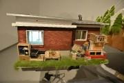 Une des deux maisons créées par l'artiste est... (Le Progrès, Jeannot Lévesque) - image 1.1