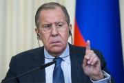 Le ministre russe des Affaires étrangères Sergueï Lavrov... (AP) - image 2.0
