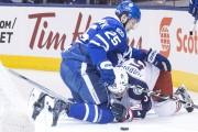 James van Riemsdyk a inscrit deux buts dans... (La Presse canadienne, Chris Young) - image 4.0