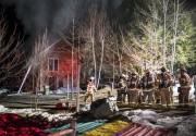 L'incendie d'une résidence unifamiliale a nécessité l'intervention d'une... - image 1.0