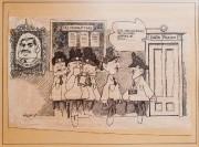 Première caricature d'Aislin publiée dans The Montreal Star... (Photo Edouard Plante-Fréchette, La Presse) - image 2.0