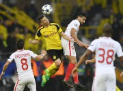 Le match contre Monaco, à Dortmund, a débuté... (AP) - image 2.0
