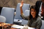 L'ambassadrice américaine à l'ONU, Nikki Haley.... (REUTERS) - image 2.0