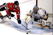 Le gardien Pekka Rinne des Predators affrontera lesBlackhawks... (AP, Nam Y. Huh) - image 3.0
