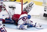 Le gardien Henrik Lundqvist est parvenu à blanchir... (La Presse canadienne, Paul Chiasson) - image 3.0