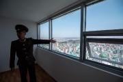 La vue depuis l'un des appartements.... (Ed JONES, AFP) - image 1.1