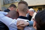 La prison abrite en majorité d'anciens mafieux, une... (AP, L'Osservatore Romano) - image 2.0