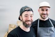 Seth Gabrielse et Julien Roy, les deux propriétaires... (PHOTO MARCO CAMPANOZZI, LA PRESSE) - image 1.0