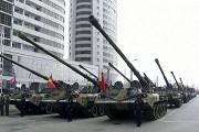 Une parade militaire a été organisée pour le... (Photo tirée d'une vidéo, AP) - image 2.0