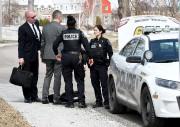Les policiers de la Sécurité publique de Saguenay... (Rocket Lavoie) - image 1.1