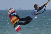 Pauline Valesa, championne de France en kitesurf, est... (AFP, Raymond Roig) - image 2.0