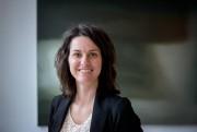 Émilie Grandmont Bérubé, présidente de l'Association des galeries... (Photo Marco Campanozzi, La Presse) - image 1.1