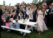 Un pique-niquesur la pelouse de la Maison-Blanche.... (REUTERS) - image 2.0