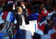 Emmanuel Macron a livré un discours lundi à... (AP) - image 2.0