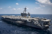 Le porte-avionsCarl Vinson... (AFP) - image 2.0
