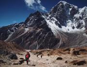 Le paysage de l'Everest est assombri par un... (AFP, Anton Nelson) - image 6.0