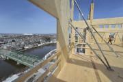 Vus du huitième étage, la rivière Saint-Charles et... (Le Soleil, Patrice Laroche) - image 3.0