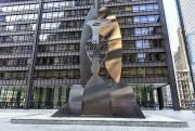 La statue Sans titre,de Picasso, érigée à Chicago.... (123RF/Felix Lipov) - image 4.0