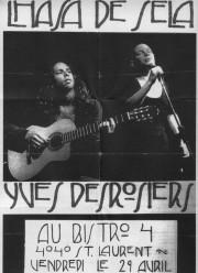 Une affiche de concert datant de 1994, bien... (Photo fournie par Yves Desrosiers) - image 3.0