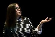 Valerie Jessica Laporte est une maman autiste Asperger.... (Photo Le Quotidien, Jeannot Lévesque) - image 1.0