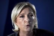 Marine Le Pen, 48 ans, candidate du Front... (AFP, Lionel Bonaventure) - image 5.0