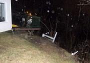 L'affaissement survenu sur la 105e Avenue à Shawinigan... (Sylvain Mayer) - image 1.0