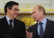François Fillon etVladimir Poutine à Moscou en 2011.... (AFP) - image 3.0