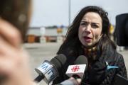 La chef du Bloc québécois, Martine Ouellet.... (Olivier Croteau) - image 2.0