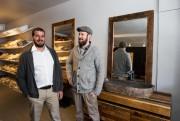 Les associés Mike Skyllas et Louis Sunstrum sont... (Photo Hugo-Sébastien Aubert, La Presse) - image 1.0