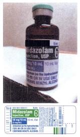 Une bouteille demidazolam.... (AP) - image 3.0