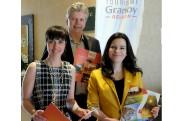 La commissaire au tourisme, Nancy Morin, le directeur... (Alain Dion, La Voix de l'Est) - image 1.0