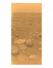 Cliché en couleur de Titan.... (Huygens) - image 2.0